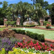 East Gate Fountain, 7-16-19